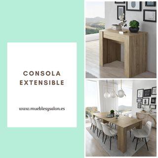 Consola/mesa extensible