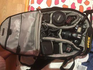 Objetivos y accesorios camara D70