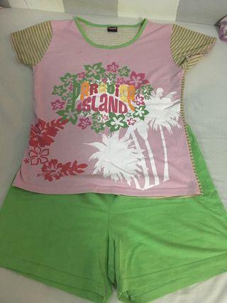 Pijama completo para verano