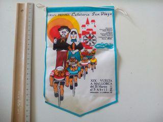 BANDERIN XIX VUELTA VICLISTA A MALLORCA 1969
