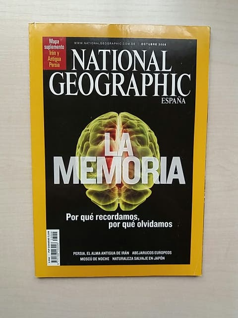 Revista National Geographic Octubre 2008
