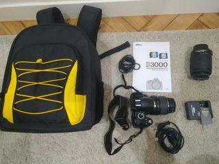 Cámara fotos digital Nikon D3000