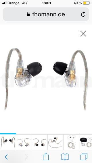Auriculares Shure SE215