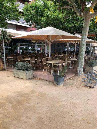 Toldo para terraza de segunda mano en wallapop - Toldos terraza bar ...