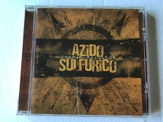 AZIDO SULFÚRICO CD POEMAS MALDITOS NUEVO
