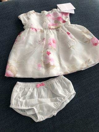 Vestidito mayoral 2-4 meses