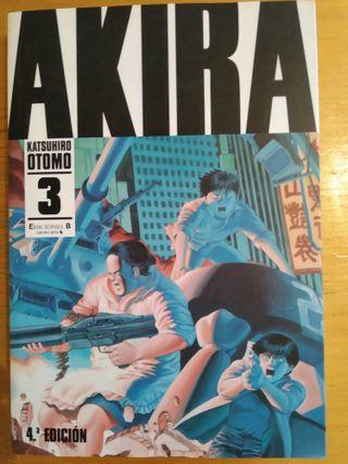 AKIRA 3 KATSUHIRO OTOMO EDICIONES B B/N