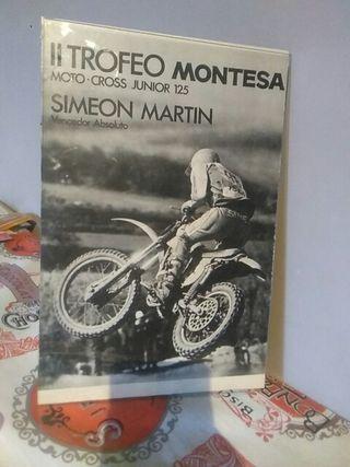 publicidad trofeo Montesa