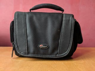 Bolso de mano de lente réflex satchel cámara, cámara, ángulo