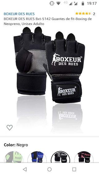 Guantes fit-boxing Boxeur des Rues en neopreno