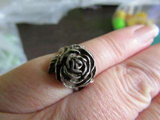 anillo de plata antiguo