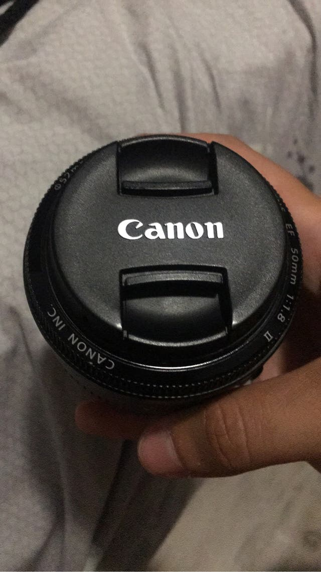 CANON 50MM 1.8 IMPECABLE