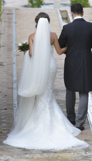 Vestido novia + Velo