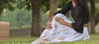 Falda hindu hippie