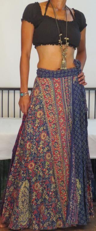 Falda hindu algodon
