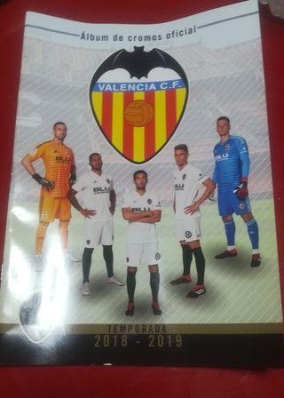 Album Valencia CF 2018-2019