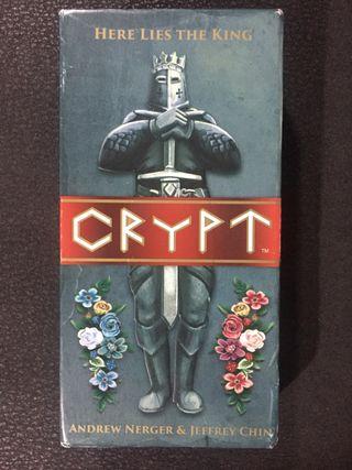 CRYPT - juego de mesa