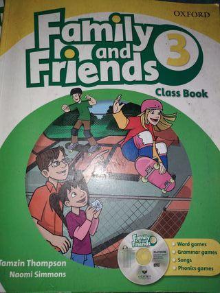 libros texto 3 primaria inglés family and friends