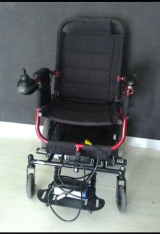 silla de rueda invacare a motor