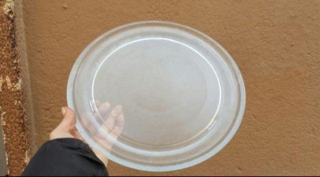 platos de cristal para microondas
