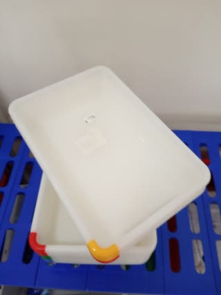 Cubeta rectangular encajable