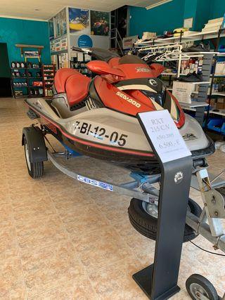 Moto acuatica triplaza Sea-doo RXT 2005