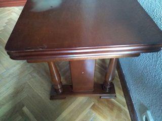 NEGOCIABLE: Mesa comedor vintage marrón
