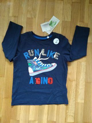Camiseta NUEVA 6 años lentejuelas