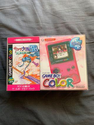 Game Boy Color Sakura Wars