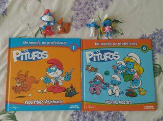 Libros Pitufos figuras