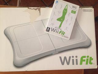 Juego Wii Fit y tabla