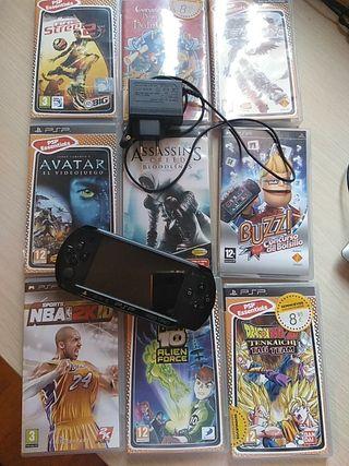 PSP - PlayStation Portable de segunda mano en Fuenlabrada en