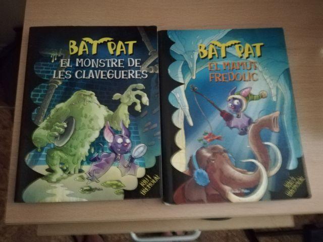 libros de bat pat