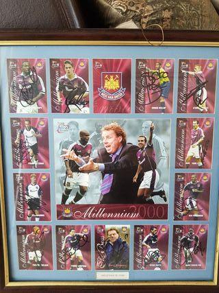 Millennium 2000 west ham memorabilia