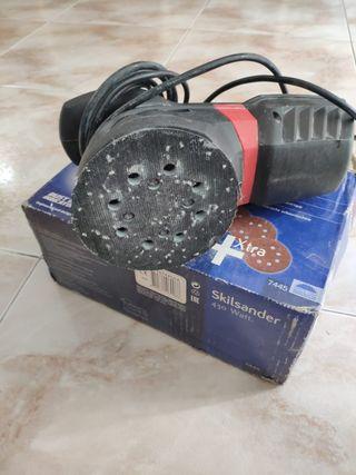 lijadora circular eléctrica skil 430w
