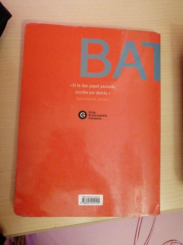 Lengua Castellana y literatura. Libro 2° de batx