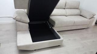 sofa Chaiselong XXL ITALIANO ANTIMANCHA
