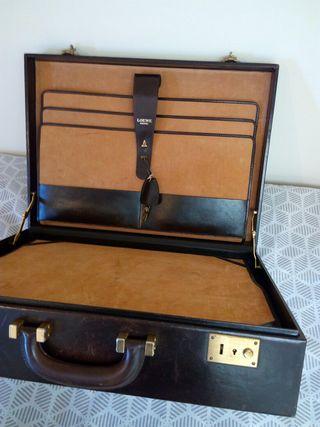 maletín Loewe de piel