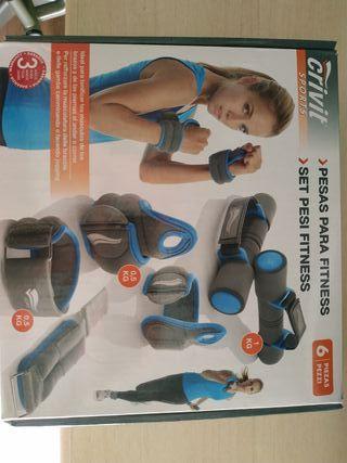 set pesas para fitness