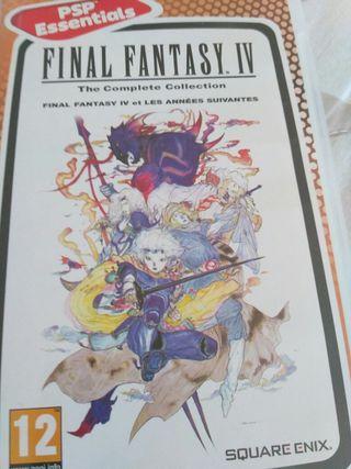 Final fantasy IV de PSP