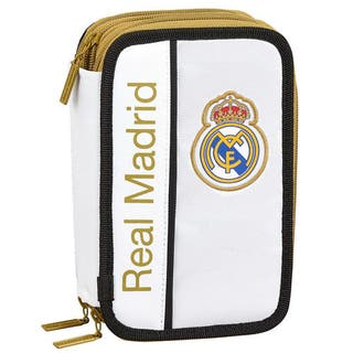 estuche real madrid triple 41pzs