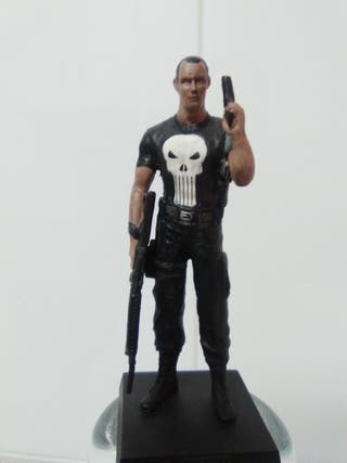 FIGURA PLOMO PUNISHER MARVEL. PLANETA AGOSTINI