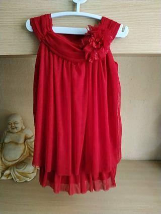 vestido Zara Girls 3-4años