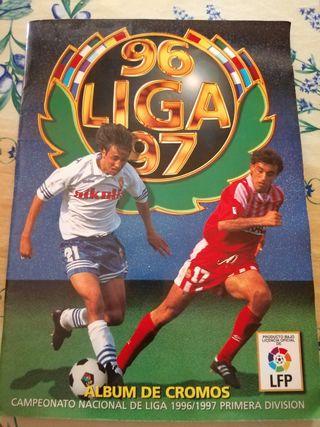 Album de cromos liga 96-97
