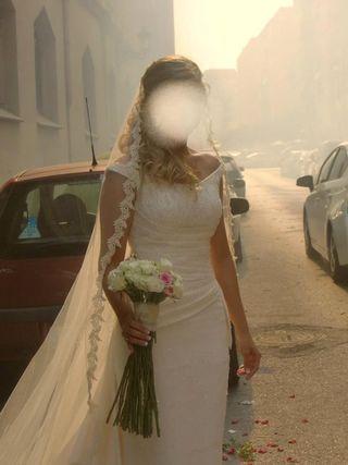 f22a500bb Vestido de novia talla 36 de segunda mano en Valencia en WALLAPOP