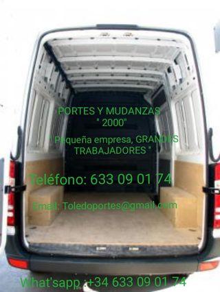 Portes, Mudanzas y Alquiler de furgonetas.
