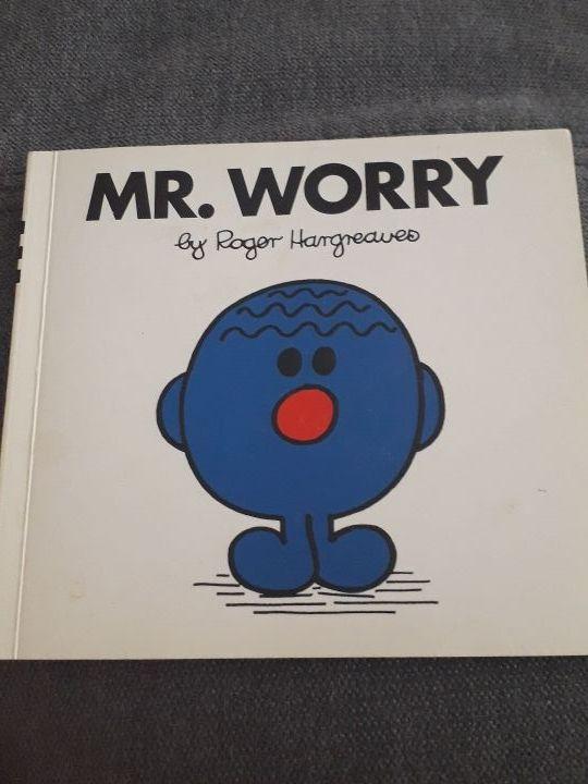 libro en inglés Mr Worry
