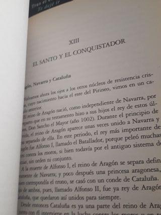 libro Historia de España contada con sencillez