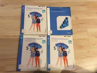 Pack libros matemáticas cuarto primaria