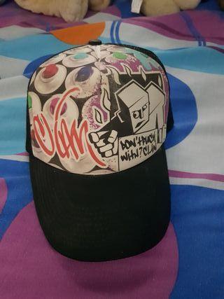 Gorra hip hop DC